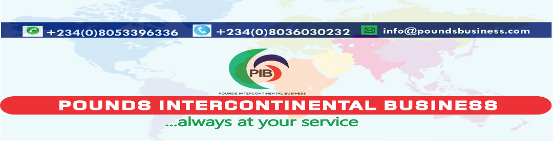 Pounds Intercontinental Business